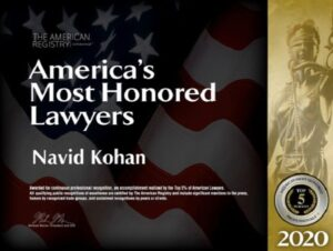 America's Most Honored Lawyers, Top 5%